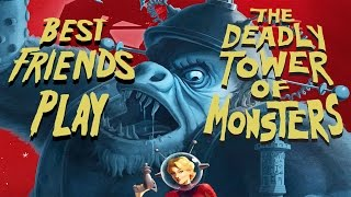 Best Friends Play The Deadly Tower of Monsters!