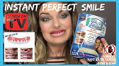 People Try Perfect Smile Veneers For Bad Teeth and Review