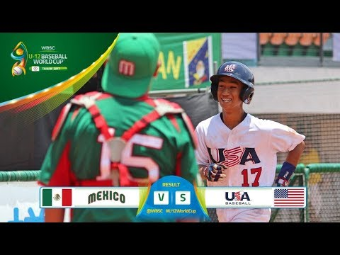 Highlights: Mexico v USA - Super Round - WBSC U-12 Baseball World Cup 2017