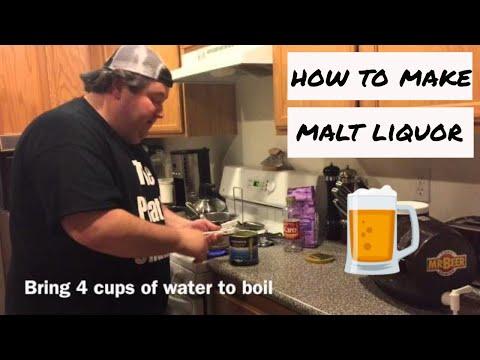 How to make Malt Liquor