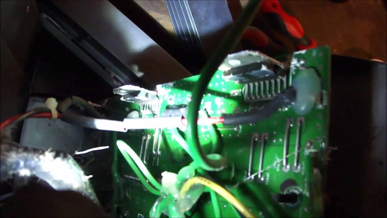 Welp Logitech Z-680 5.1 Repair Dead or Silent Channel - YouTube SZ-22