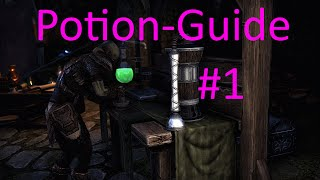 ESO Potion Guide [#1] (Health+Magicka+Stamina Potion and Invisibility Potion)
