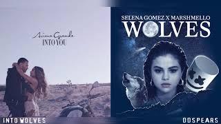 """INTO WOLVES"" - Ariana Grande, Selena Gomez, Marshmello (Mashup)"