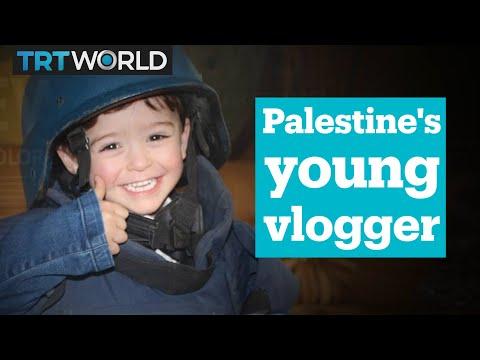 The cutest little journalist in Palestine