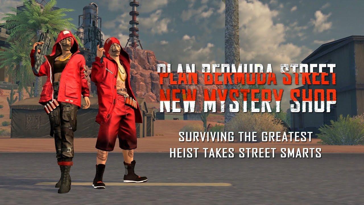 Money Heist special Mystery Shop   Free Fire x Money Heist   Garena Free Fire