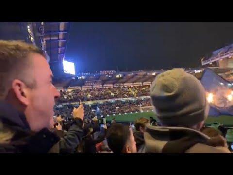 Chelsea FC Lightshow from East & West Stands Prematch Entertainment  #Chelsea vs Tottenham