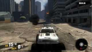 Gameplay 29# : MotorStorm Apocalypse PS3 - Eita destruição :P