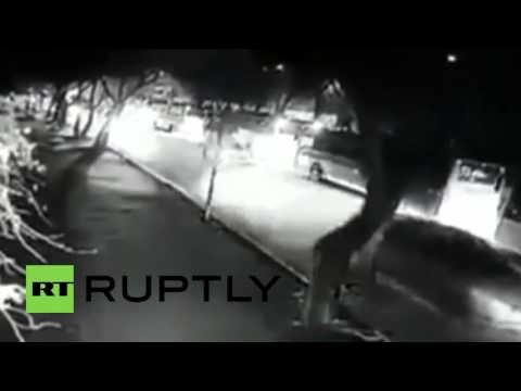 Turkey: Dramatic CCTV footage shows moment of deadly bomb blast in Ankara