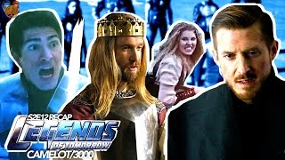 "Legends of Tomorrow Season 2 Episode 12 "" Camelot/3000 "" Recap Under 4 Minutes"