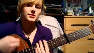 How to play The One That Got Away (Katy Perry) acoustic guitar lesson