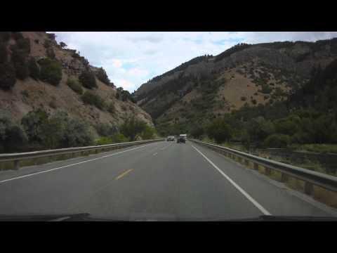 Logan Canyon to Bear Lake Utah HD Video 1 of 4