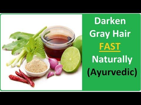 Blacken or Darken Your Grey/White Hair Fast Naturally | Ayurvedic Home Remedy