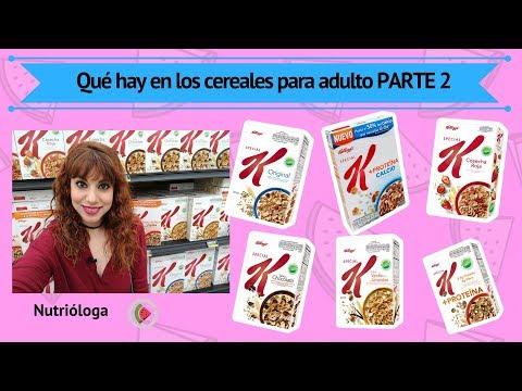 ¿Qué hay en los cereales para adulto? PARTE 2 Special K