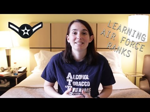 How to Learn Air Force Enlisted Ranks as a Military Wife