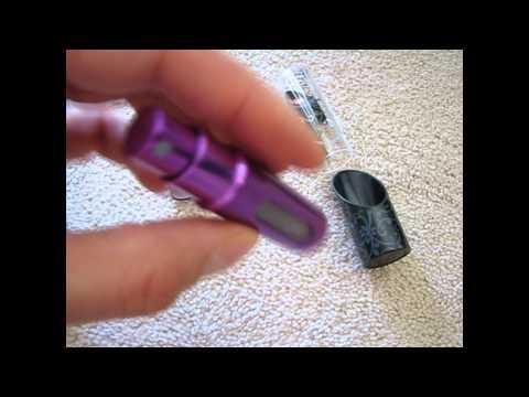 [RG004] - Travalo - Refillable Perfume Atomizer Review - Sweepstakes Ninja