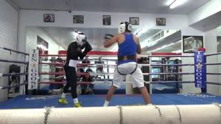 young warriors sparring at goossen gym EsNews Boxing