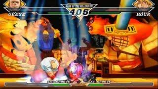 [TAS] Geese Howard VS Rock Howard (Capcom vs SNK 2: Mark of The Millenium)