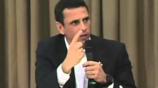 Diálogo Maduro-Oposición: Palabras de Henrique Capriles, gobernador de Miranda