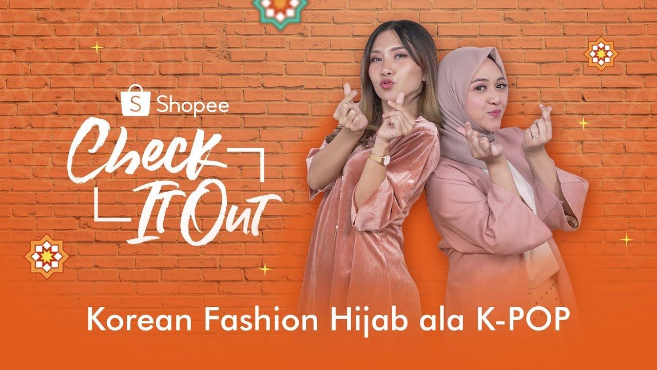 Korean Fashion Hijab ala K-POP | Shopee Check It Out Ep.13 6