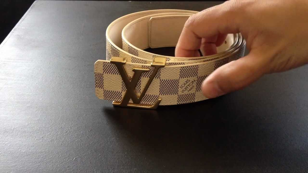 Louis Vuitton Belt Real Vs Fake White Sema Data Co Op