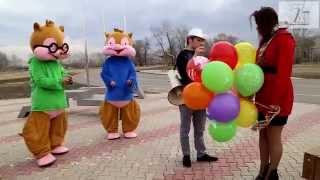 День рождения у Риты. Неожиданное поздравление от  Бурундуков ПЦ Семья и Компания