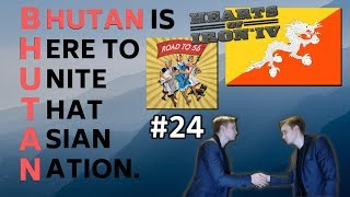 HoI4 - Road to 56 mod - Bhutan Is Here To Unite That Asian Nation - Part 24 - German Reinforcement!