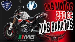 WBikers II Las motos 250 cc MAS BARATAS
