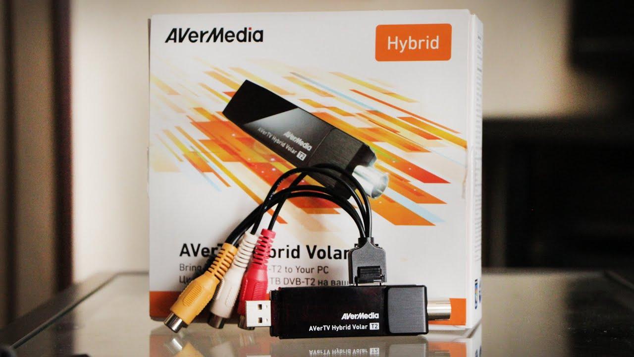 AVerMedia H831 Hybrid DVB-T/T2 Tuner Drivers PC