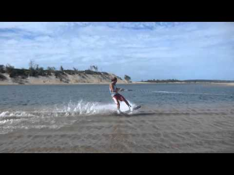 Limpopo river mouth wake boarding