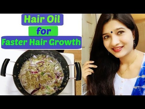 how to grow long hair faster in hindi