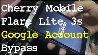 Cherry Mobile Flare Lite 3S FRP Bypass