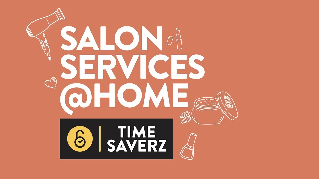 Professional Beauty & Salon Services at Home - Timesaverz