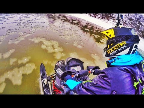 Ski Doo Water SKIP AND SKATE!