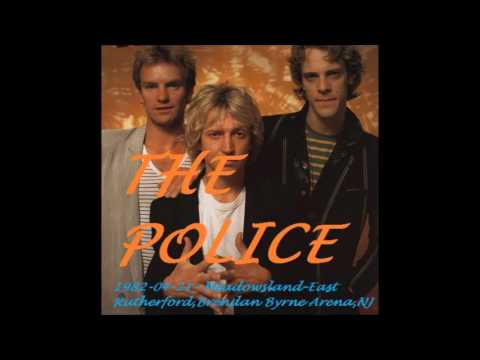 "The Police- East Rutherford, NJ ""Meadowlands Arena"" 21-04-1982 (Full Show)"