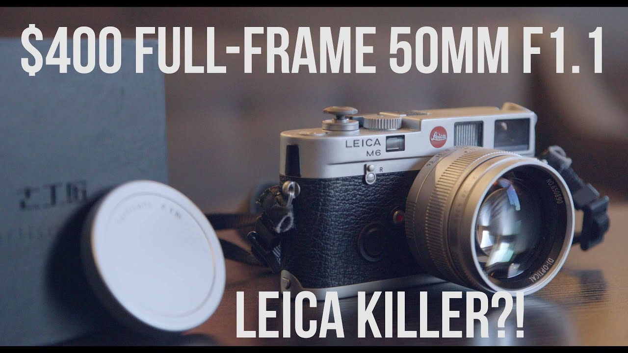 $400 Leica KILLER!? The full-frame 7Artisans 50mm f1.1 Review with ...