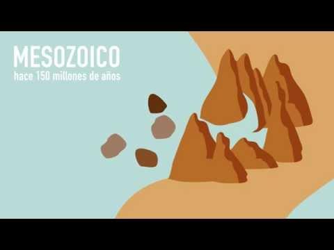 biterswit · Motion Graphics de la creación Montserrat #geologiaanimada