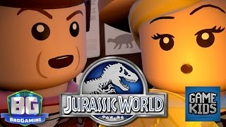 LEGO Jurassic World Gameplay - Bro Gaming