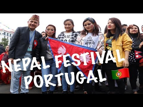 FIRST EVER NEPAL FESTIVAL 2018 PORTUGAL CELEBRATING HAPPY NEW YEAR 2075