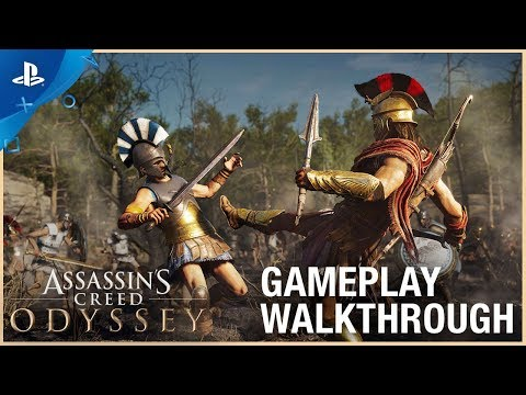 Assassin's Creed Odyssey - E3 2018 Gameplay Walkthrough | PS4