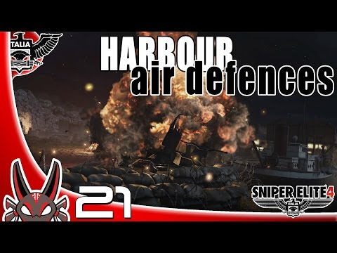 """Harbour Air Defences"" E21 