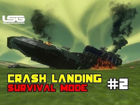 Space Engineers - Crash Landing Shipwrecked SE4 - Part 2