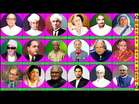 Bharat Ratna Award List