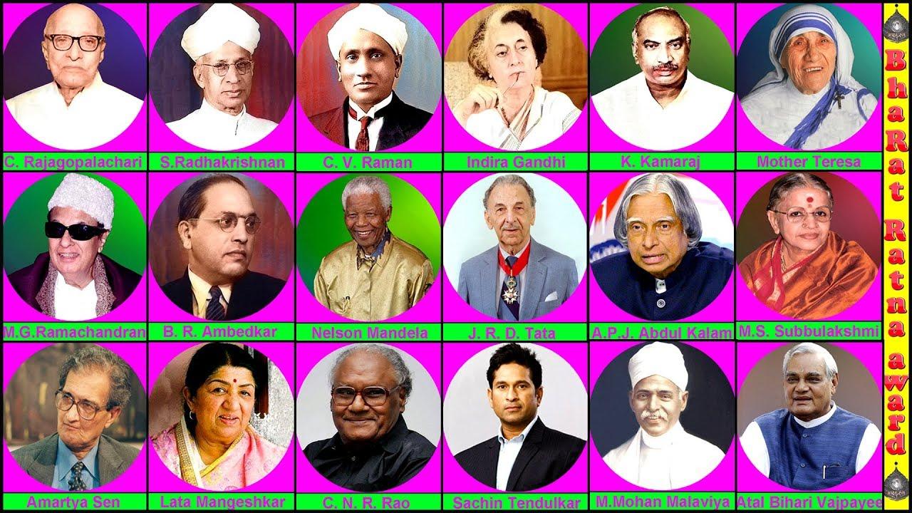 Bharat Ratna Awards Winners