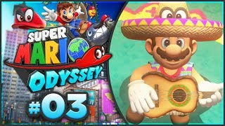 Super Mario Odyssey - Sand Kingdom 100% Walkthrough! [Part 3]