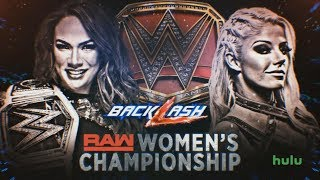 Nia Jax Vs. Alexa Bliss Raw Womens Championship Predictions | Backlash 2018