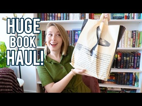 HUGE BOOKSTORE BOOK HAUL!!