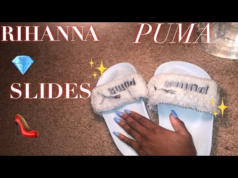 How to | Clean Rhianna Puma Slides