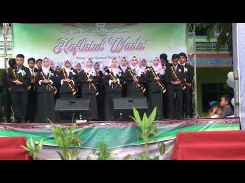 Haflatul wada YPI Al-amin Sumurbandung Jayanti