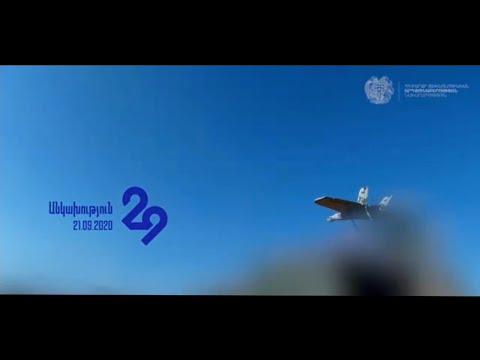 Տեսանյութ.Խոցելով թիրախը. հայկական հարվածային ԱԹՍ-ն գործողության մեջ է