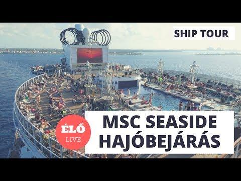 MSC Seaside - a hajó amelyik a napot követi
